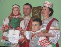 На конкурсе семей