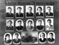 Образование на Миорщине после войны