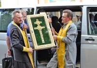 Крест Евфросинии Полоцкой в Миорах