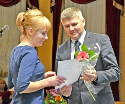 В Миорах отпраздновали День учителя