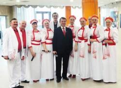 """Вокально-хореографическая Миорская группа """"Озерница"""""""