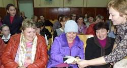 """""""Сердце для матери"""" в Язненского СШ"""