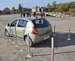 Конкурс автолюбителей в Миорах