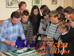 Майстар-клас для юных мастакоў