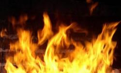 Опять пожар на сеноскладе
