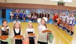 Кубок Миорского района по волейболу приветствовал россиян